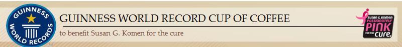 record winning coffee
