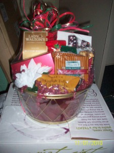 Nutcracker Christmas Gift Basket