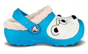 Polar Bear Lined Clogs