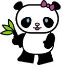 Temp panda tattoo