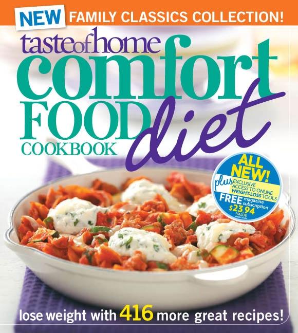 Taste of Home Comfort Food Diet Cookbook Cover