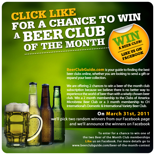 Beer Club Contest