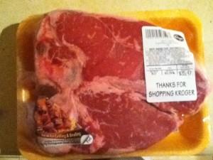 3 pound porterhouse steak