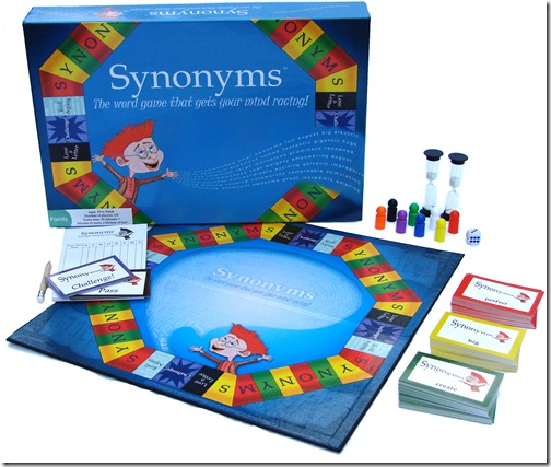Synonyms The Board Game Logo