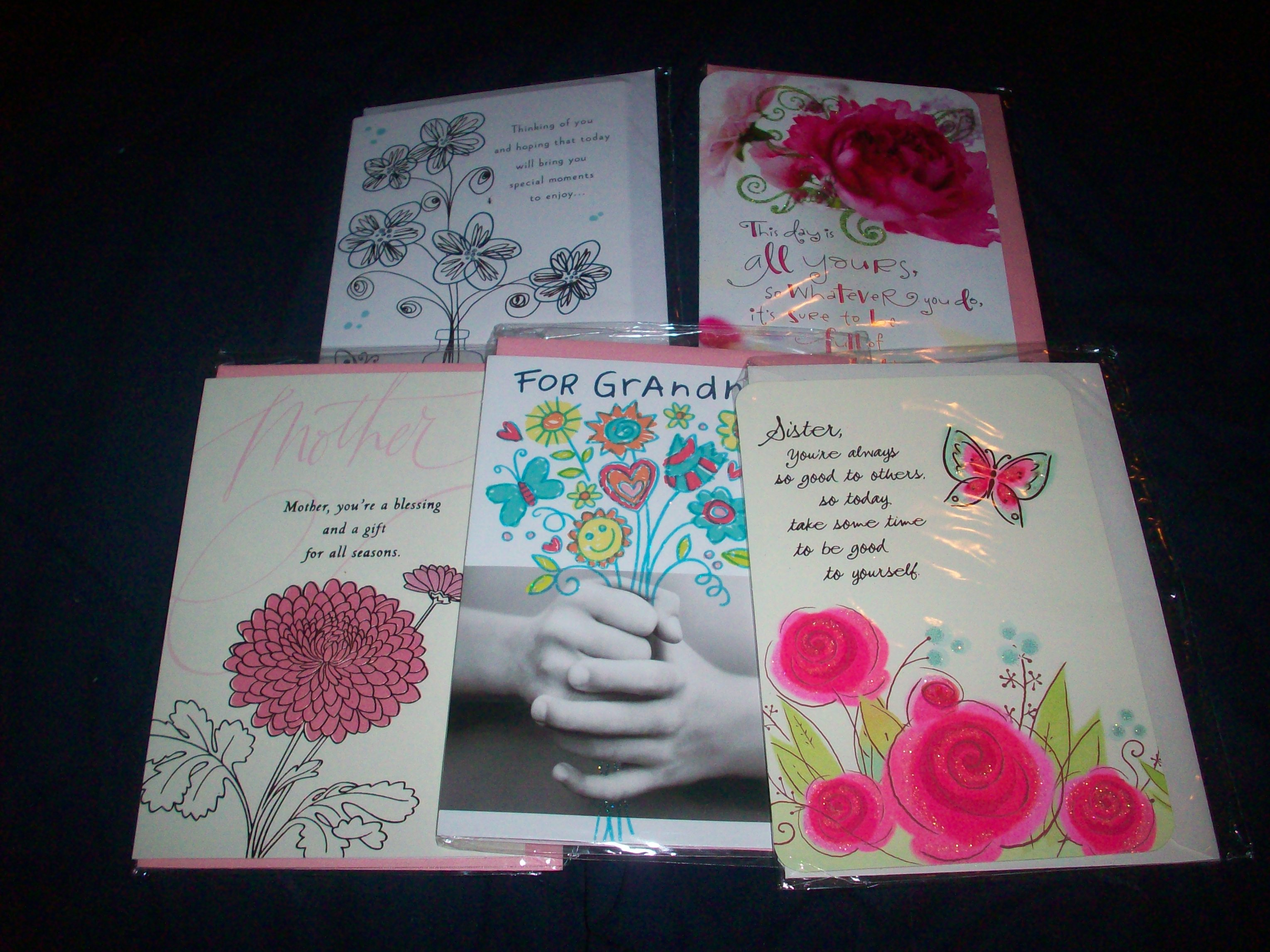 Hallmark Postage Paid Greeting Cards Review And Giveaway