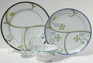 precise control dinnerware