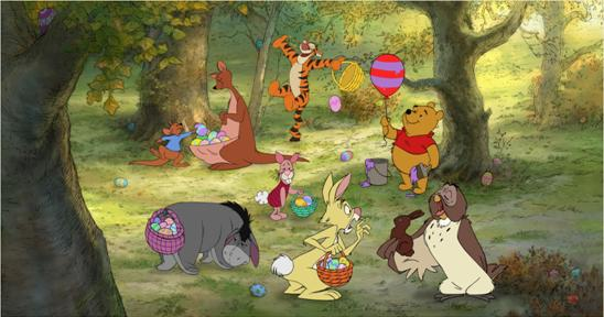 Easter Winnie The Pooh Image