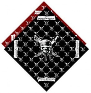 Pirates of The Caribbean Bandana