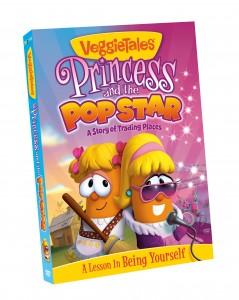 VeggieTales princess and the popstar cover
