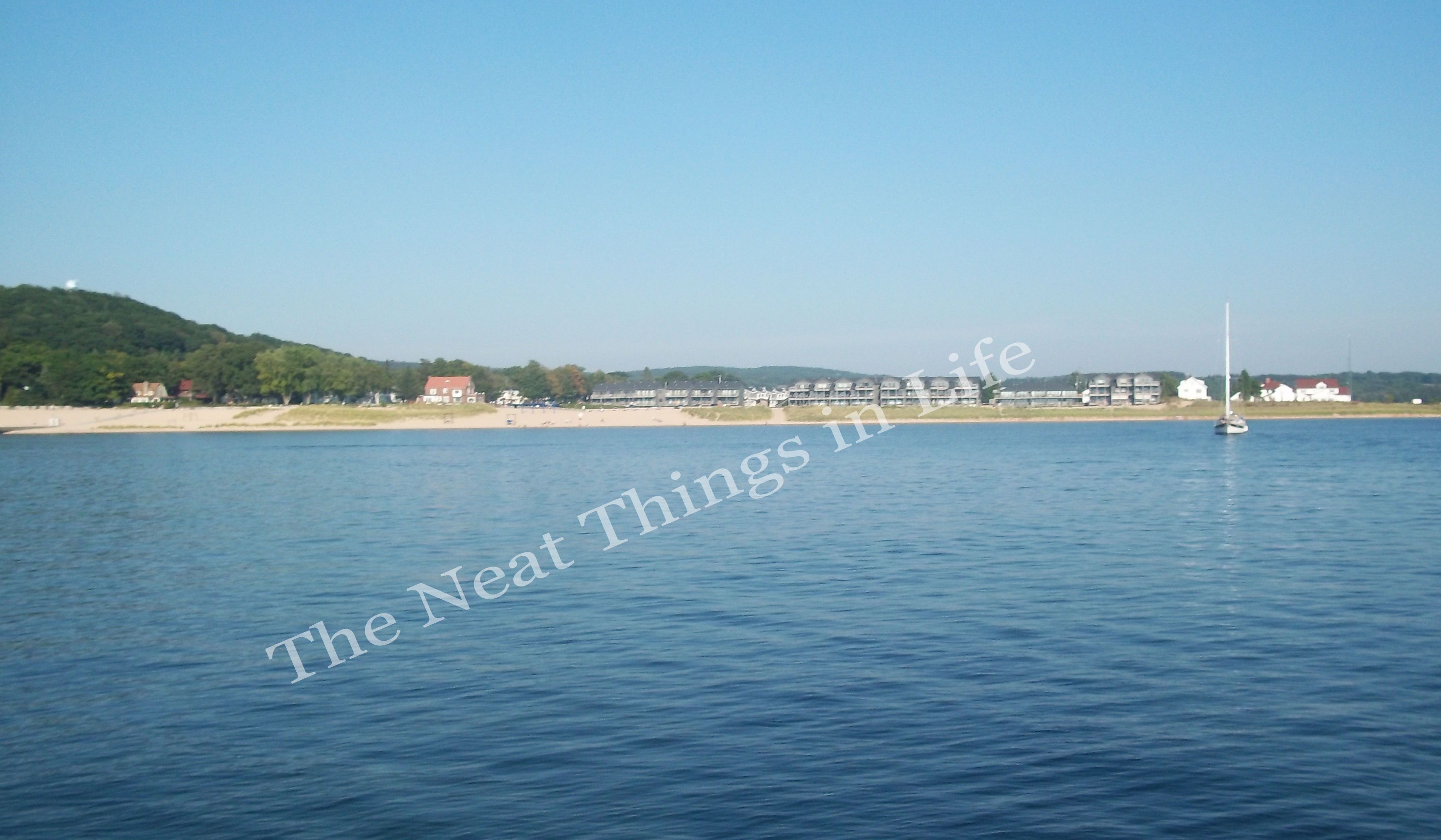 the view from the pier