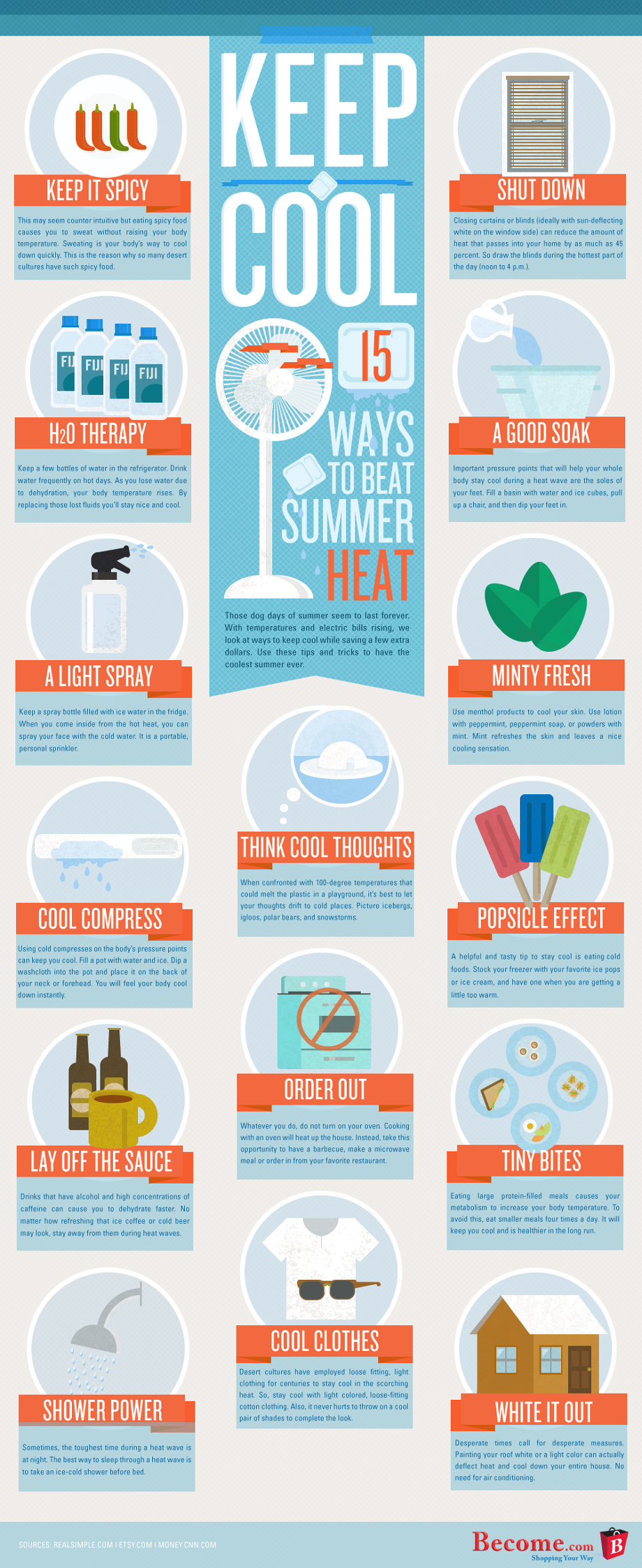 ways to beat the heat