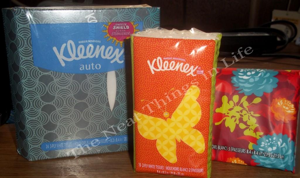 New Kleenex Designs