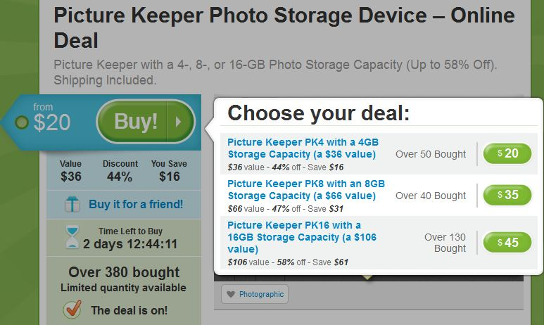 Picture Keeper on Groupon