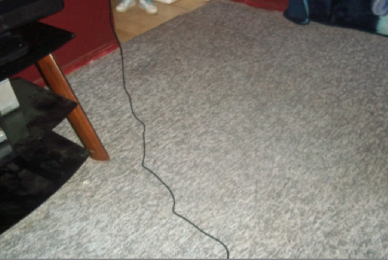 carpet after cleaning with hoover extract 60