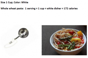 one cup serving size
