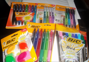 BIC New Line of stationary