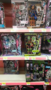 Walmart Monster High Dolls