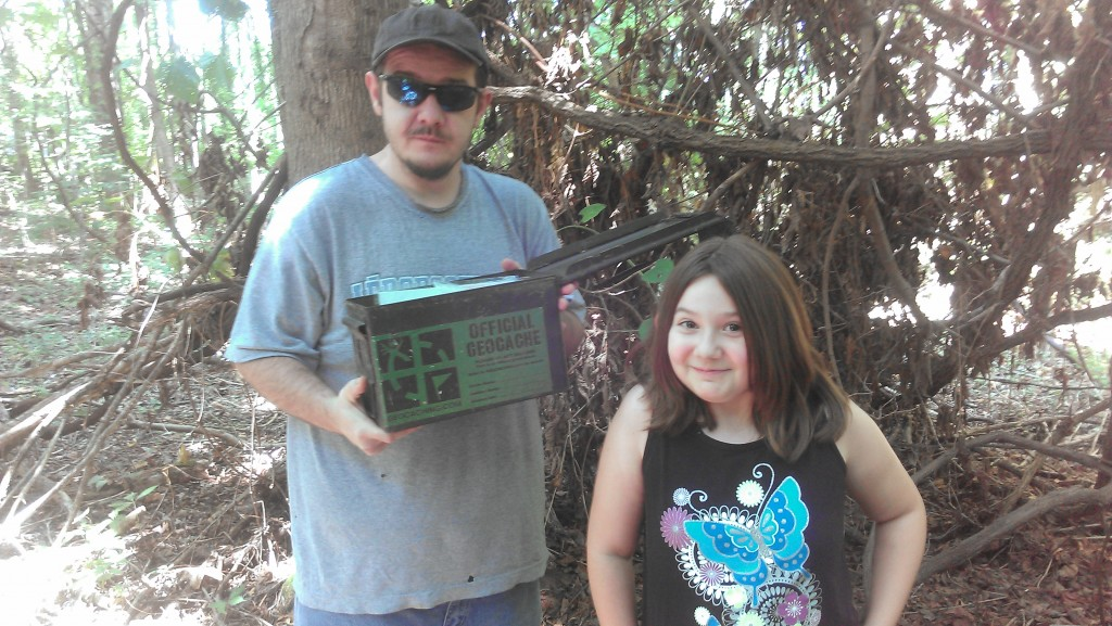 geocache in Tennessee