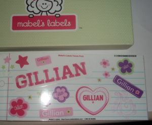 personalized mabel's labels