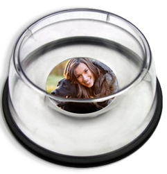 pet dish with photo