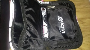 inside of on the go pouch