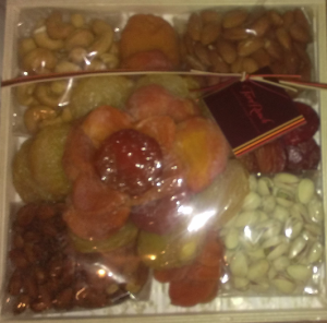 fruit and nuts display