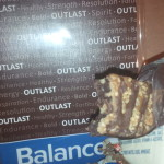Coconut balance bar