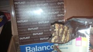 Coconut balance bar