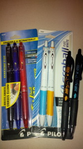pilot ink pens