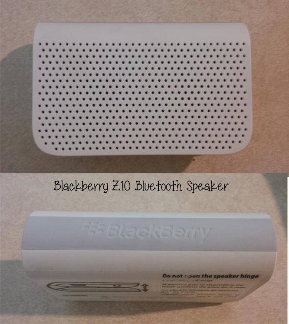bluetooth speaker blackberry z10