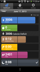 bodymedia android app