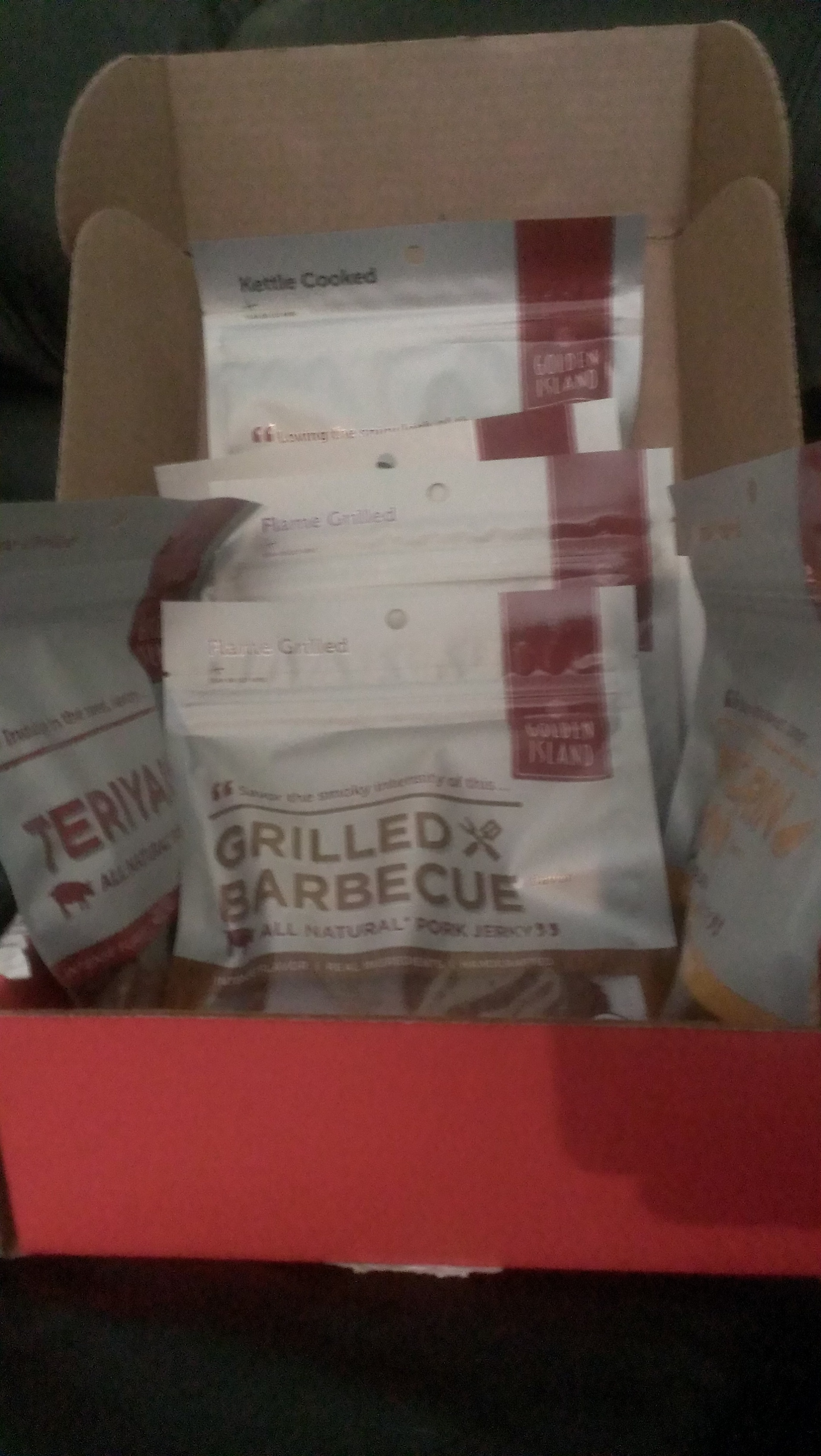 Golden Island Jerky Sampler