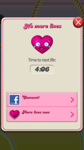 candy crush saga out of lives
