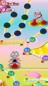 candy crush saga story