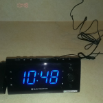 Holiday Gift Guide: ELECTROHOME USB Charging Alarm Clock Radio