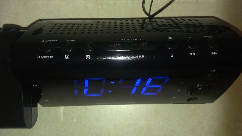 setup clock