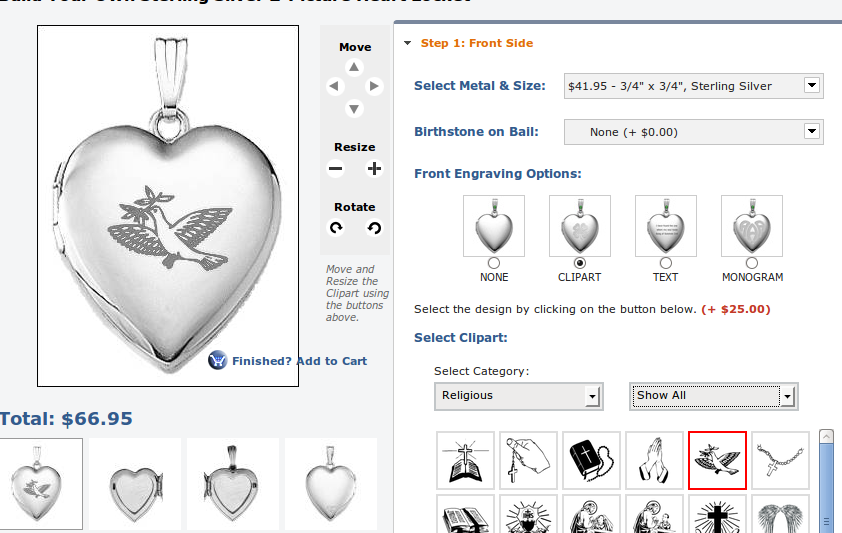 locket clip art