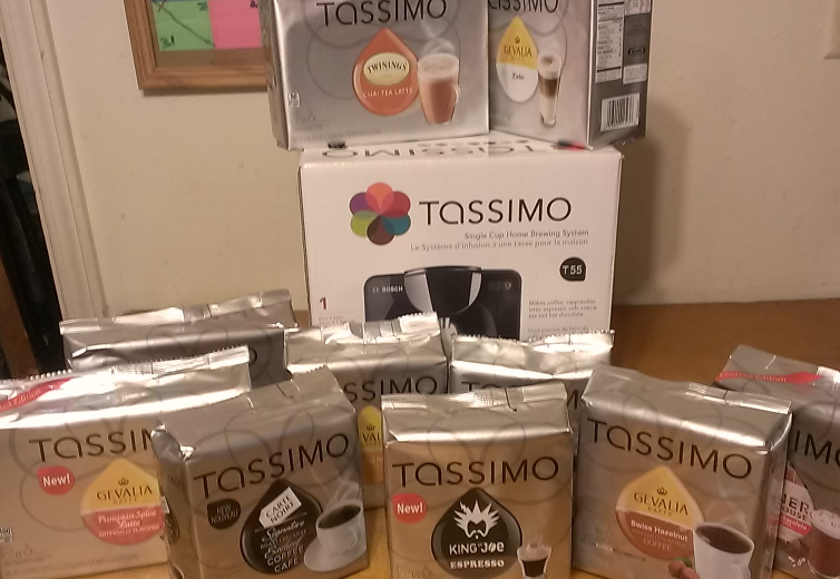 Unlock a Perfect Cup This Holiday Season with #TASSIMO T55