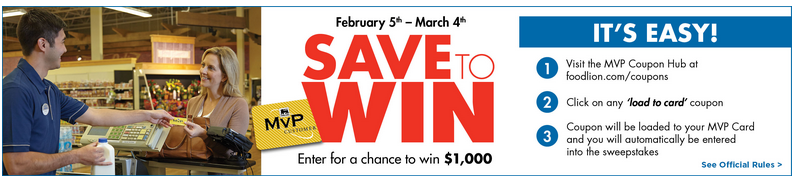 food lion sweepstakes