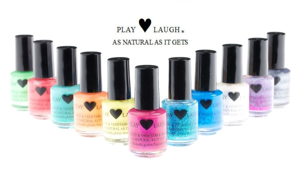 Play Love Laugh All Natural Nail Polish Review