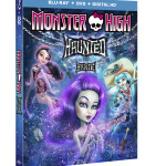 MONSTER HIGH HAUNTED BLU-RAY ARTWORK