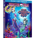 MONSTER HIGH: GREAT SCARRIER REEF Blu-ray/DVD Giveaway