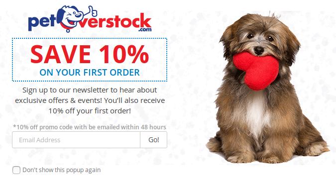pet overstock